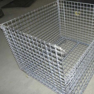 Độ bền kéo cao Wire Mesh Pallet Cage