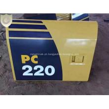 Assoalho da porta lateral da tampa da máquina escavadora de KOMATSU PC220