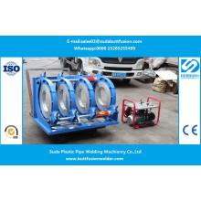 * Machine de soudure de garnitures de tuyau de Sud450h HDPE de 280mm / 450mm
