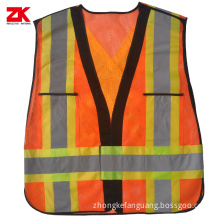 High visibility industrial safety clothing