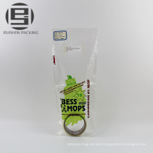 Printed recycled plastic mophead packing bag