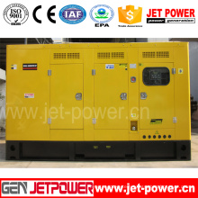 125kVA Standby Rating Power Cummins Soundproof 100kw Electric Diesel Generator