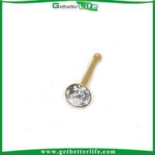 Cuchara de oro Stud de nariz Piercing de la nariz