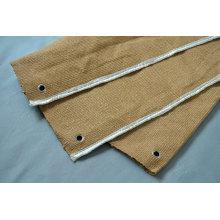 CFSVBL Ceramic Fiber Fire Blanket with Vermiculite Coating and S.S