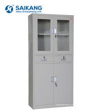 Armários de armazenamento baratos do instrumento da medicina da porta de vidro SKH051