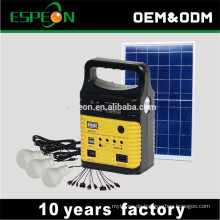 Neues Modell Solar Power Light System in Energie mit MP3-Radio & USB-Handy-Ladegerät