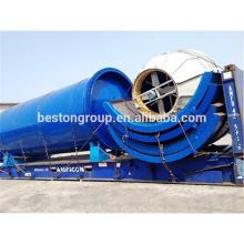 BESTON Raffinerie de pétrole brut usine mini raffinerie de pétrole brut avec CE ISO