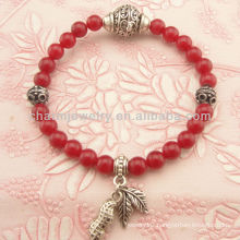 Fashion Natural Coral Bead Bracelet SB-0144