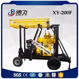 XY-200F trailer mounted rotary drilling rig bore well drilling machine price