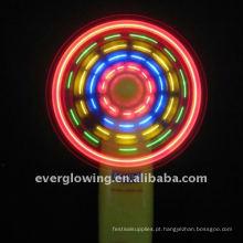 ventilador com luz led