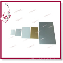 Sublimation Printable Metal Sheet in Sliver and Gold