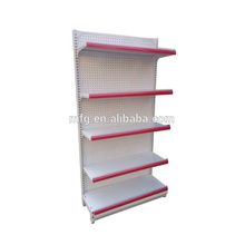Light Duty Cold Rolled Stahl Single / Double Side Display Supermarkt / Lebensmittel Racks
