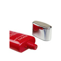 tubo cosmético para o empacotamento de creme do centímetro cúbico, vário tubo oval dos projetos