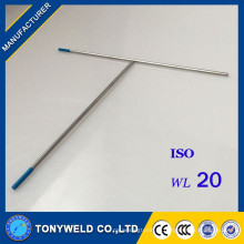 wl20 синие сварочного электрода 1.0*150 TIG сварки факел