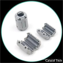 Núcleo de ferrita gris suave de NiZn SCRC tipo para filtro de ruido EMI