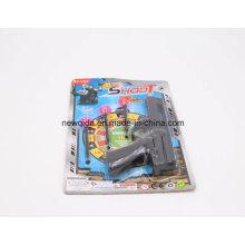 Jeu de pistolet de jouet de tir de bulle drôle de promotion pour des garçons et des filles