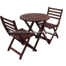 Meranti Outdoor / Garden Furniture Set - Balcony Set