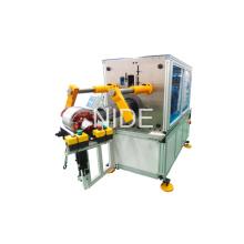 Tipo horizontal Máquina automática del insertor de la inserción de la bobina del estator del motor