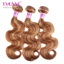 New Arrival Mix Colored Brazilian Hair Weave