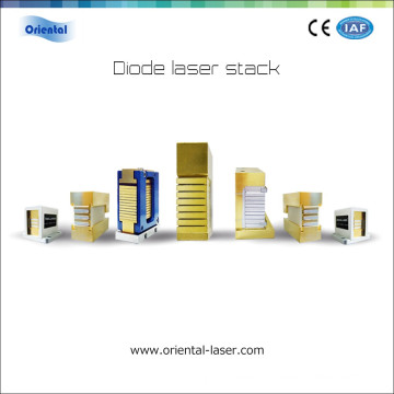 600W 940nm CW Micro-Channel Water Cooled Vertical Stack Diode Laser