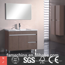 MDF Bathroom Cabinet High Gloss Wall Mounted MDF Bathroom Cabinet