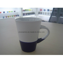 Keramische blaue Tasse