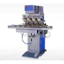 4 Máquina de impressão Colorpad com placa rotativa