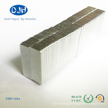 N48h Zinc Coating Rare Earth Magnet Size Can Be Customized