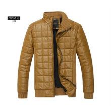 chaqueta caliente hecha a medida del bombardero del hombre de la venta