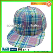 Drucken Fabric Flat Brim Snapback Caps SN-1196