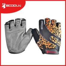 Unisex Colorful Anti-Shock Racing Bicycle Gloves with Suede Lycra