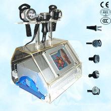 Caviação de lipoaspiração a vácuo com bio rf face lifting ultra-som emagrecimento máquina