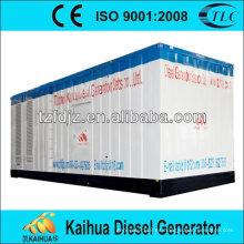 CE, ISO9001: 2008 china hizo 2500kva / 2000kw silencioso motor genset mtu