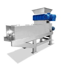 Screw Press Food Waste Squeezer cane pulp screw press dewatering machine Organic Fertilizer Making Machine