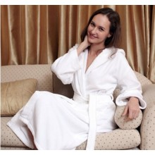 Canasin 5 Star Hotel Velour Bathrobe  100% cotton