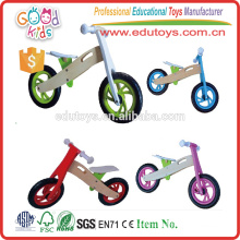 Low moq high quality wooden kids bike EZ2030