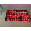 Señal móvil de mensaje de texto LED interior rojo