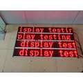 Red Indoor Led Text Message Moving Sign
