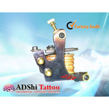 Hot-selling ADShi 8 enveloppes mitrailleuses à tatouage à la main à la pro-chaleur à chaud avec des rivets en laiton