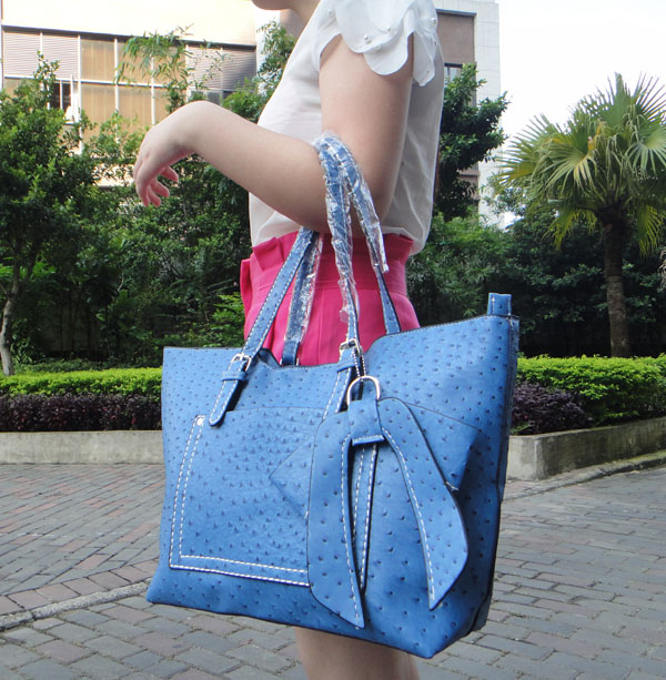 PU Leather Tote Women
