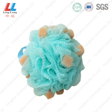 high quality mesh loofah shower smooth bath sponge