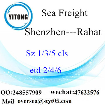 Shenzhen Port LCL Consolidamento A Rabat