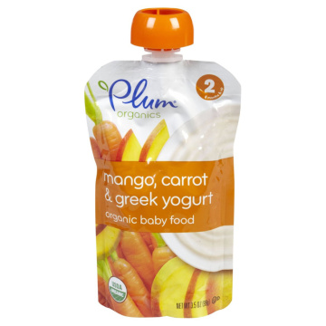Baby Food Spout Pouch for Yogurt Packaging
