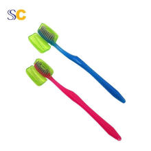 Solid Color Plastic Travel Portable Toothbrush Cover