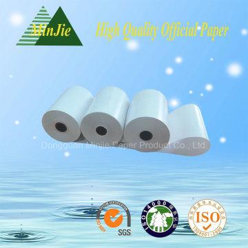 Registrierkasse Papiertyp 55GSM Glossy Thermopapier Rollen POS Drucker Papierrolle