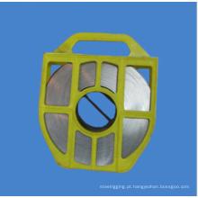 Faixa de aço inoxidável / Straping, para sinais, pólos, mangueiras