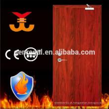 BS476 apartamento anti fogo avaliado porta de madeira