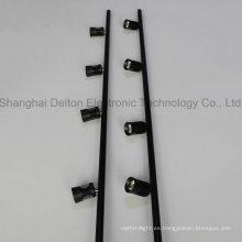 4 Luz Negro Flexible Pole LED Gabinete Joyería Luz (DT-ZBD-001)