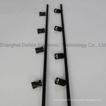 4 Light Black Flexible Pole LED Cabinet Jewelry Light (DT-ZBD-001)