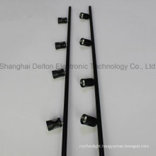 4 Light Black Flexible Pole LED Cabinet Jewelry Light (DT-ZBD-001)